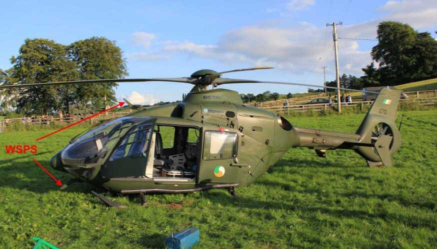 Acidente com helicóptero EC135P2+ do Air Corps irlandês em missão de remoção aeromédica.