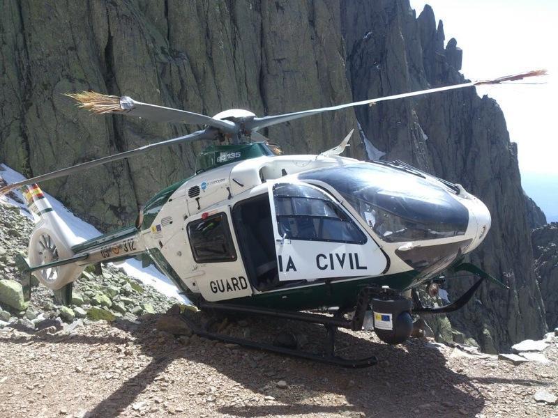 Acidente EC135 Guarda Civil Espanha 2