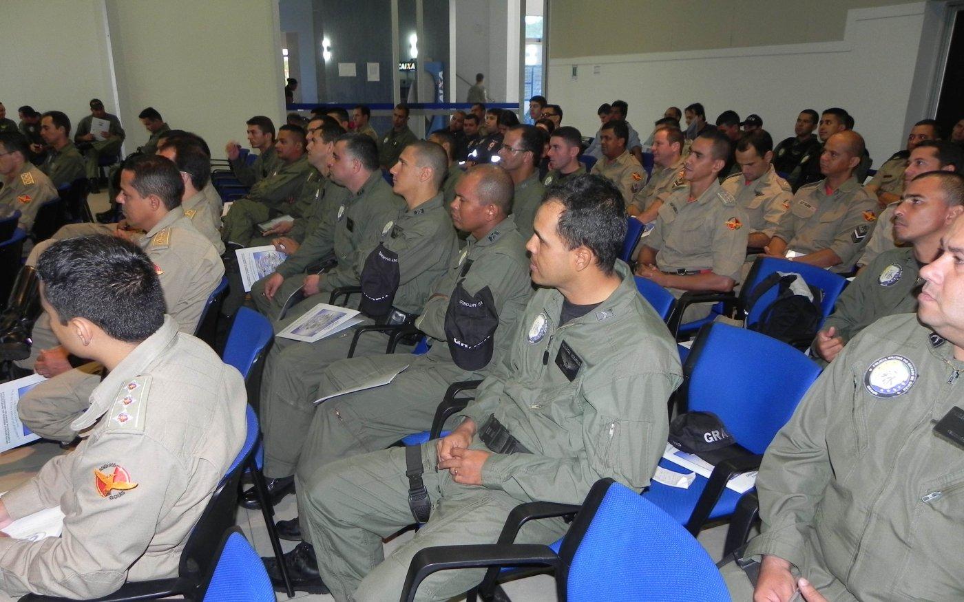 Grupamento Aéreo da Polícia Militar de Goiás, Terceiro Grupamento de Tática Aérea da Polícia Civil, Bombeiros e Serviço de Atendimento Móvel de Urgência (SAMU) foram as instituições treinadas pelo SERIPA VI.