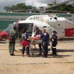 Idosa é transferida com urgência pelo Helicoptéro do SAMU Alagoas 2