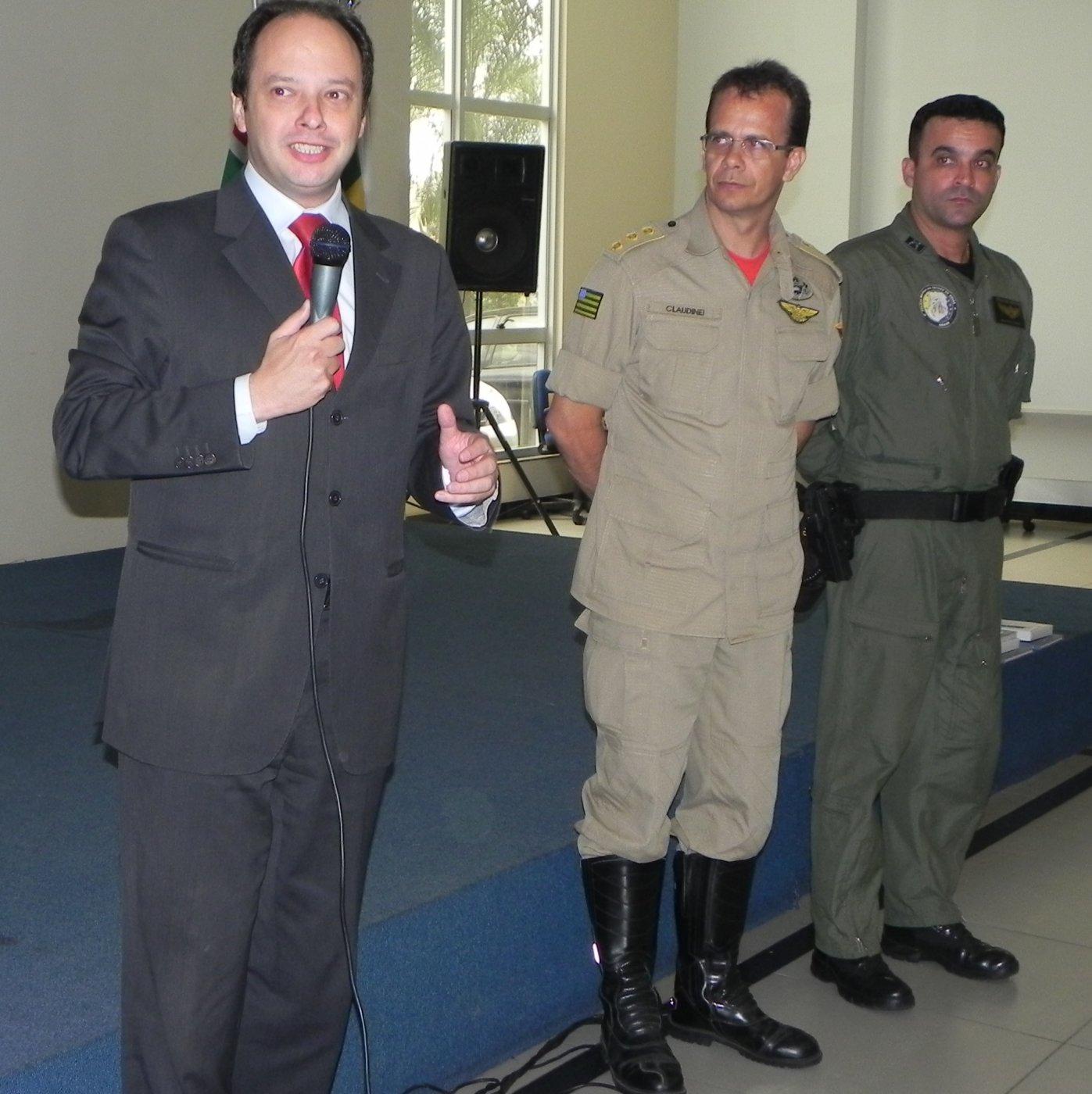 Segurança pública de Goiás recebe treinamento em CRM