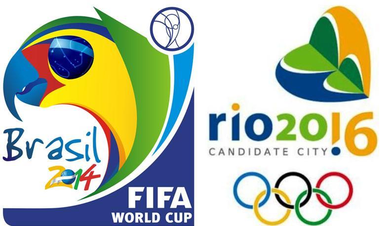 copa 2014 e olimpiadas 2016