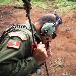 Sgt Almada durante operação com o IBAMA