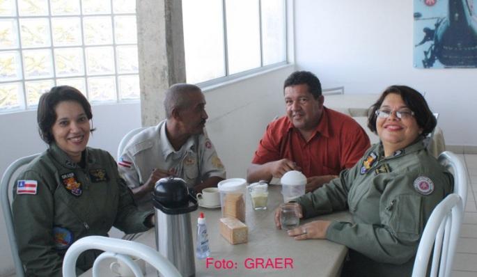 Sargento PMBA se despede da corporação com visita às unidades 3