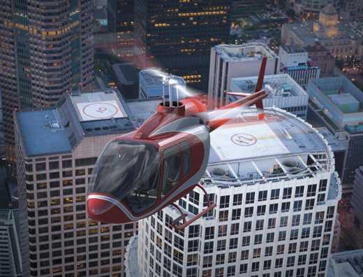 Bell anuncia desenvolvimento de novo helicóptero de cinco lugares