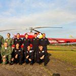 3ª turma de Tripulante Operacional. São 11 alunos, sendo 3 da PMSC e 1 da PMPR.
