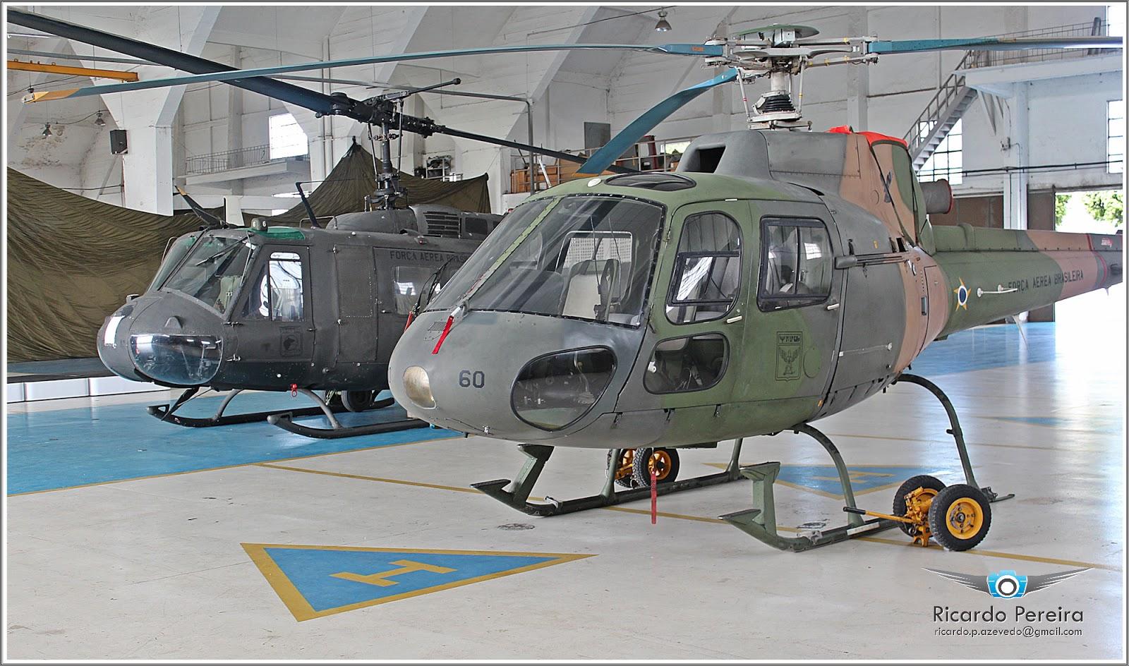 FAB pretende doar helicópteros Esquilo e H-1H Iroquois para PCERJ