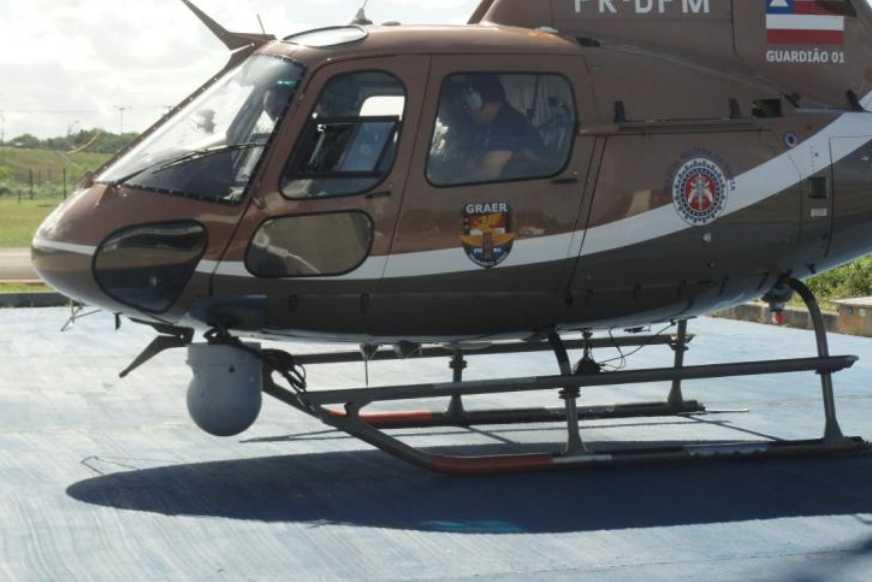 Sistema Imageador (FLIR) instalado na aeronave Guardião 01