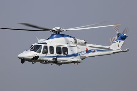 AW139 Polícia Itália