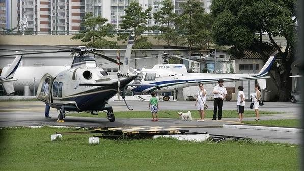 Helicóptero Rio de Janeiro
