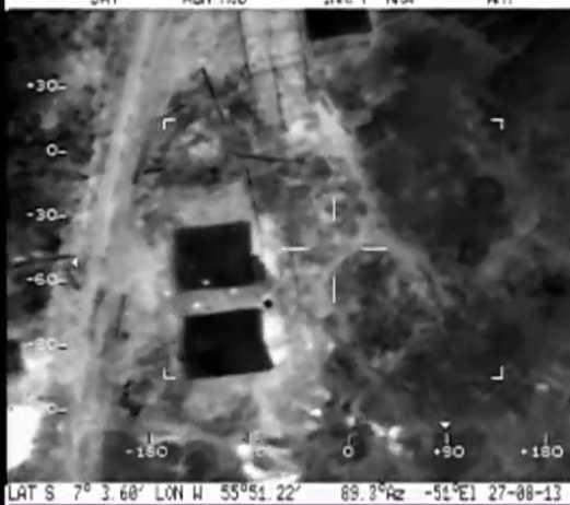 IBAMA- Avião com sensor termal detecta áreas pequenas de desmatamento