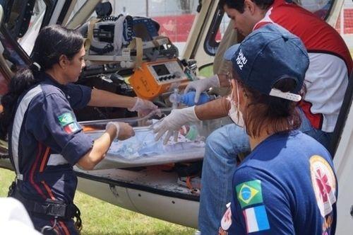 Aeromédico tem ajudado a salvar vidas (Foto: Ascom Samu)