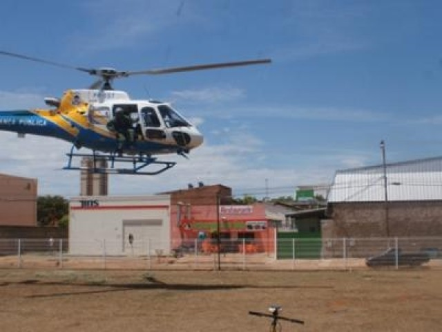 Ciopaer atua na prisão de assaltante em Palmas e resgata vítima de acidente de trânsito em Porto Nacional