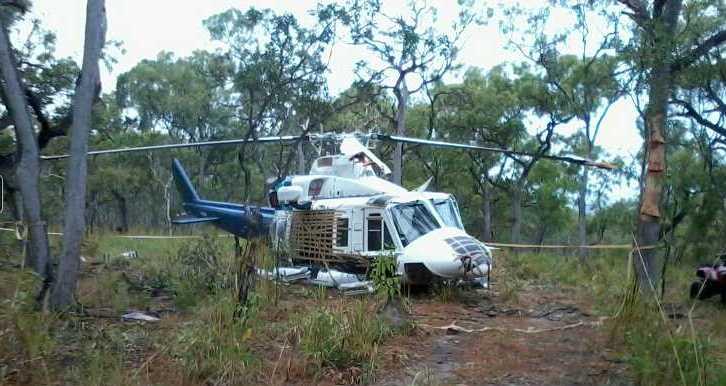 Acidente com helicóptero aeromédico na Austrália