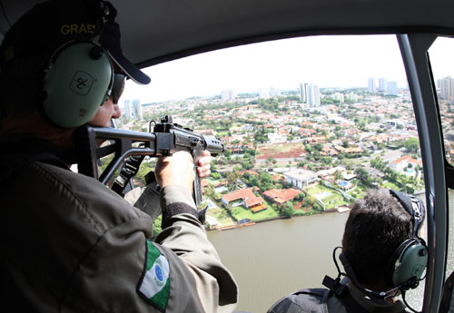"""Graer ganha """"status"""" de batalhão no Paraná. Foto: Jonas Oliveira / AENPr"""