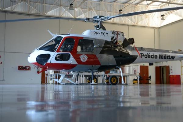 Helicóptero Águia terá resgate aéreo médico em 2014. Foto: M. Germano/JP