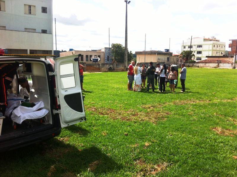 Atropelamento em Carmópolis de Minas