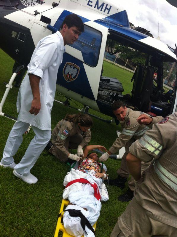 Harpia resgata uma gravida em trabalho de parto em Nova Venécia