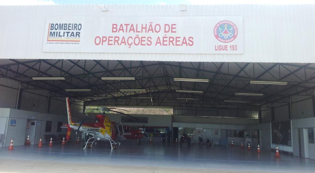 BOA/CBMMG – Batalhão de Operações Aéreas do Corpo de Bombeiros Militar de Minas Gerais
