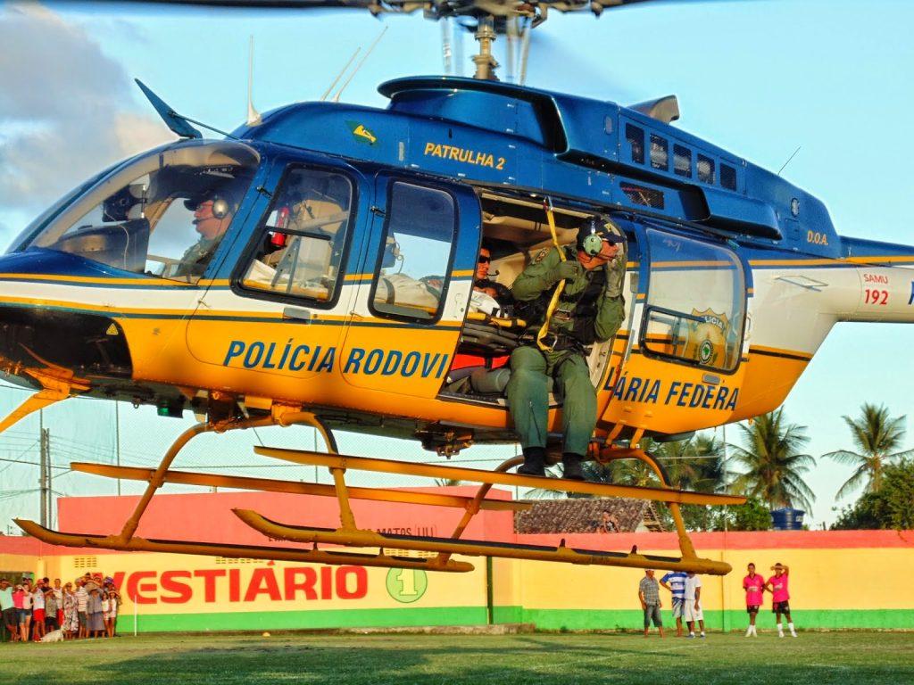Adolescente de 13 anos com Hemorragia Intensa é Resgatada por Helicóptero da PRF em Crisópolis/BA.
