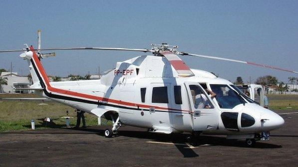 Helicóptero do Governador Geraldo Alckmin.