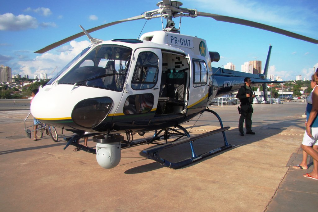 Imageador aprimora policiamento aéreo em MT