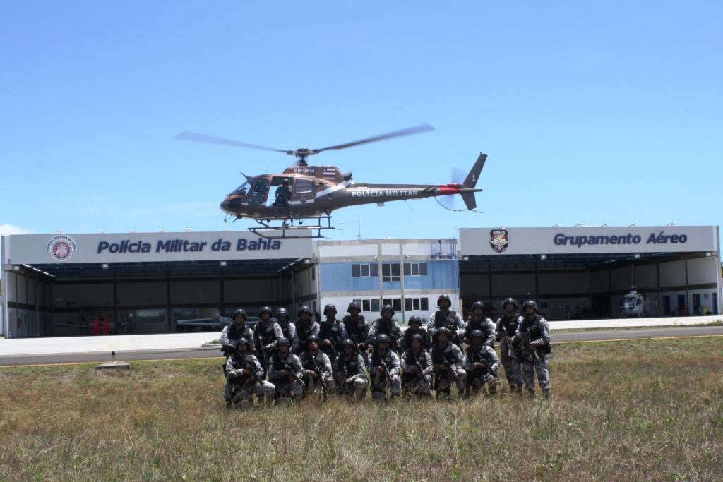 Curso de Operações Paraquedistas Policiais entrega diploma a 25 formandos nesta sexta-feira.