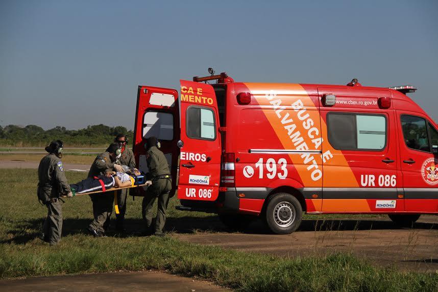 Serviço aeromédico é reforçado com helicóptero, em Rondônia