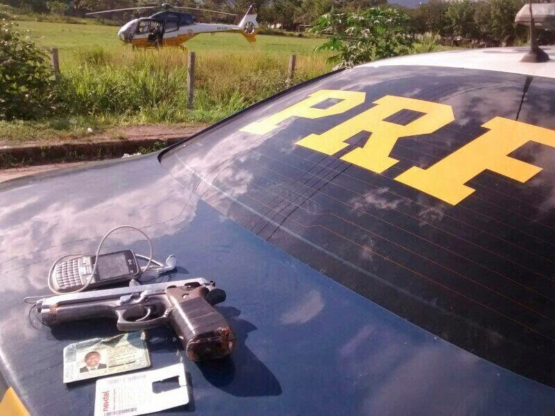 Homem é preso com apoio de helicóptero EC-120B Colibri do DOA/DPRF