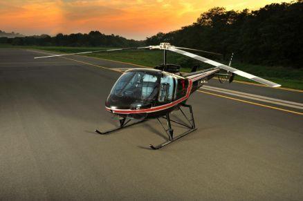 O Enstron TH180 é uma das aeronaves previstas para fabricação em São Gonçalo do Amarante/CE