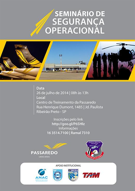 Seminário de Segurança  Operacional – Ribeirão Preto