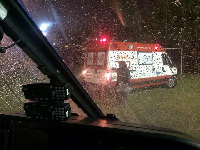 Vítima de infarto é resgatada pelo Guardião 05 no interior do estado da Bahia