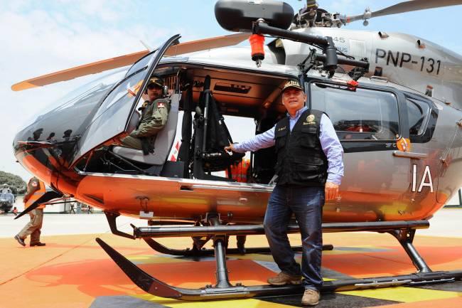 O  5º EC145 da Polícia Nacional do Peru