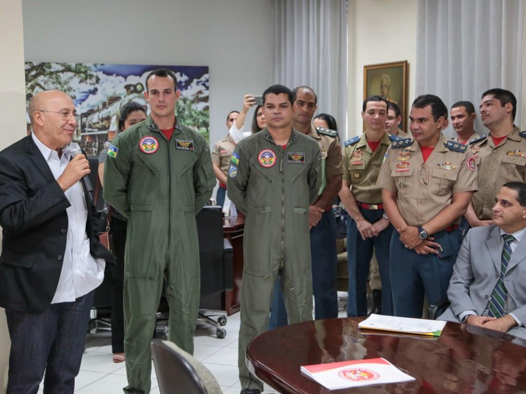 GOA foi homenageado pelo Governo de Rondônia