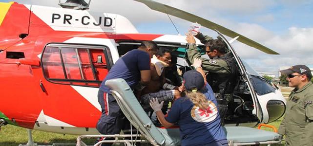 Helicóptero da Segurança realiza quase 100 voos em dez meses