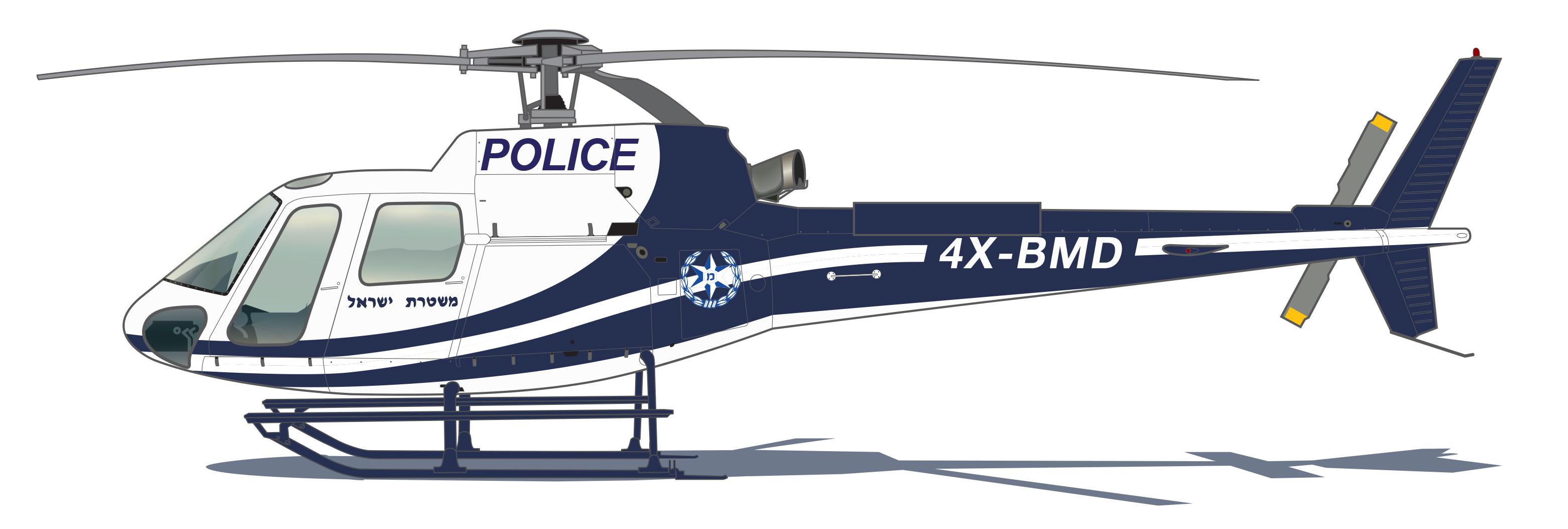 A polícia israelense H125 Nacional