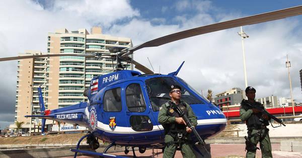 A Secretaria de Segurança Pública da Bahia, faz o lançamento da Operação Verão 2016. foto Mateus Pereira/GOVBA