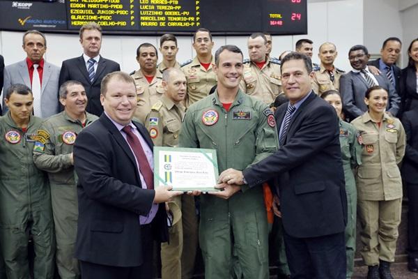 Assembleia Legislativa assegura R$ 1,5 milhão para serviço de socorro aéreo