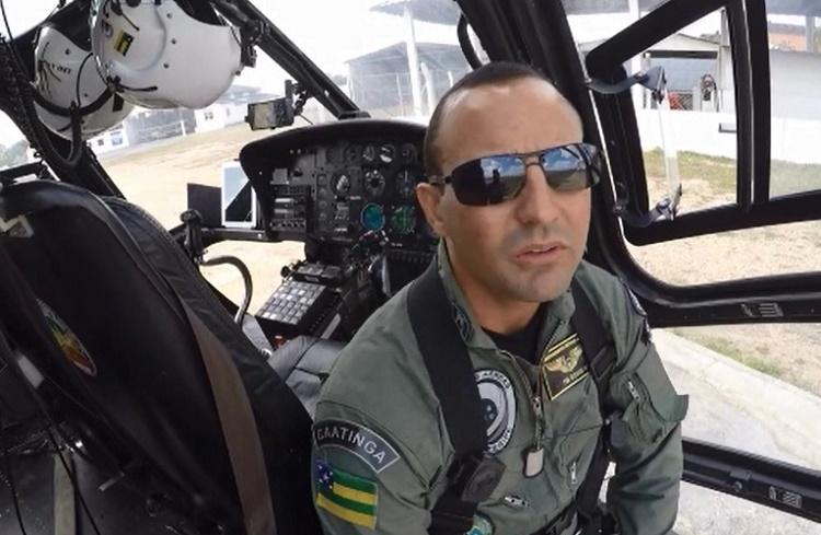 Capitão Rodrigo Bicudo - Foto Ricardo Pinho