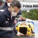 Ciclista sofre acidente na Serra do Japi e é resgatado pelo Águia