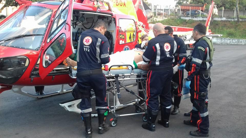 Helicóptero agiliza atendimento médico no Sul de Minas Gerais