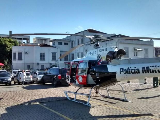 Operação demorou cerca de 35 minutos (Foto: Polícia Militar/Divulgação)