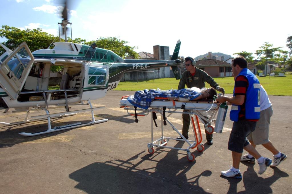 Em cinco anos, Serviço aeromédico do Governo do Paraná faz 4.478 atendimentos. Arquivo ANPr