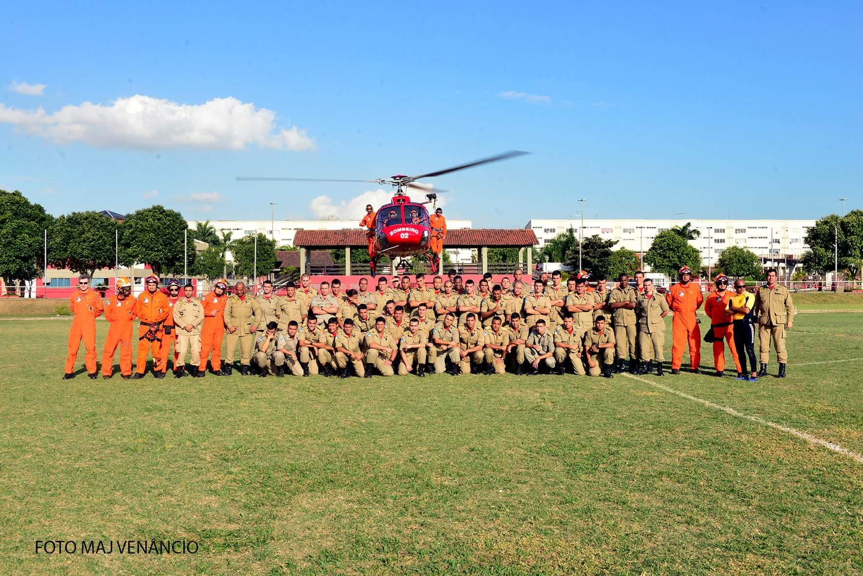 GOA/RJ ministra instrução para cadetes