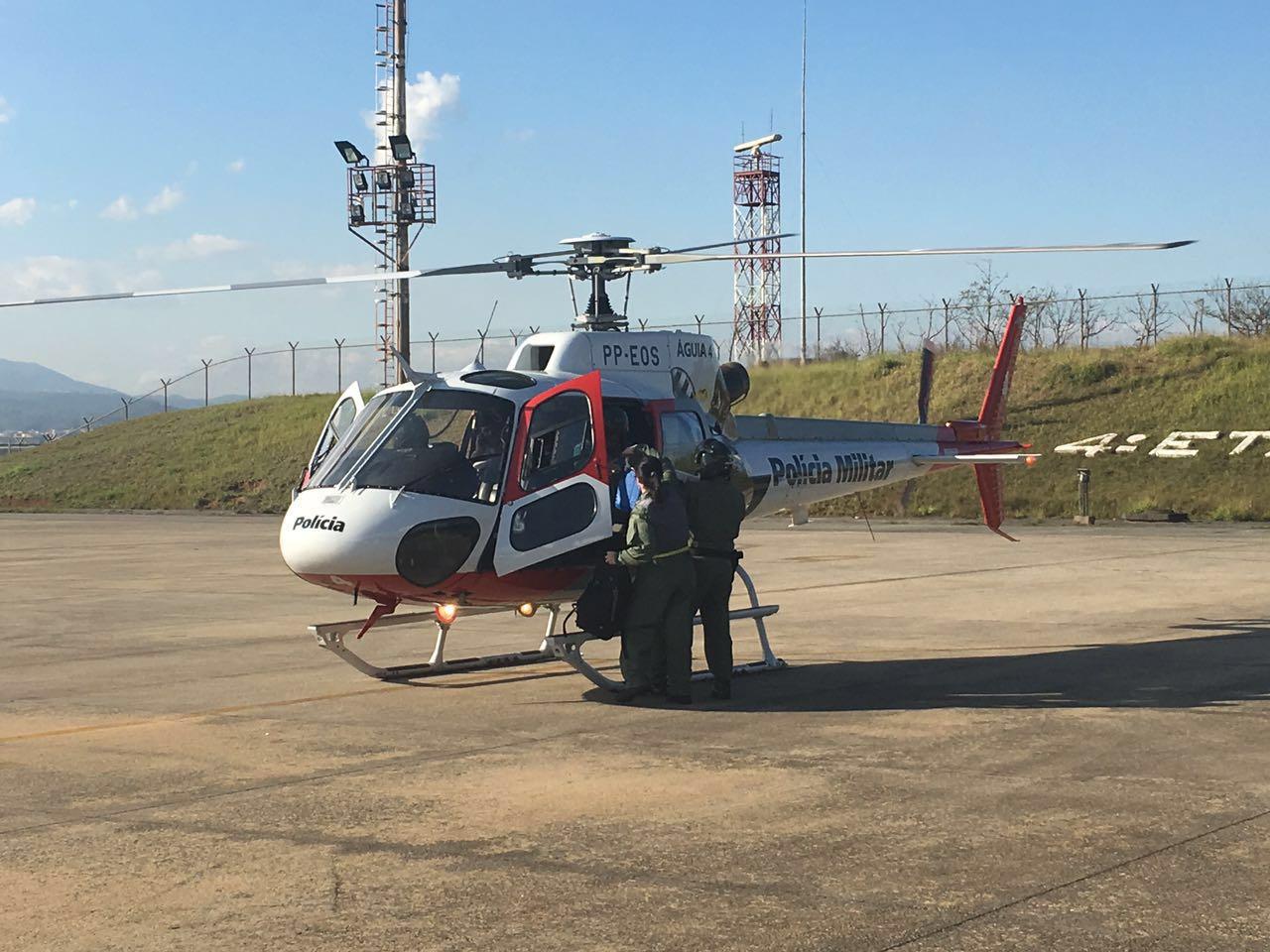 Em ação conjunta, Grupamento Aéreo de São Paulo e FAB realizam transporte de órgão
