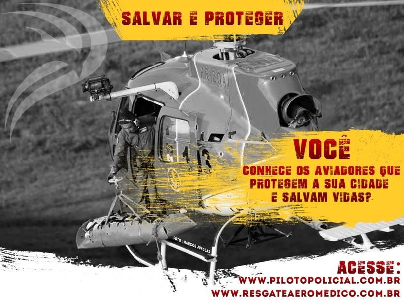 Helicóptero do Corpo de Bombeiros Militar de Minas Gerais realizando salvamento com uso do guincho elétrico.