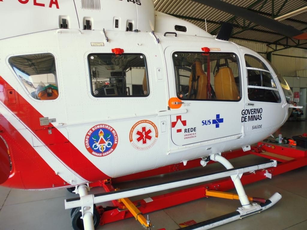Helicóptero do Bombeiro de Minas