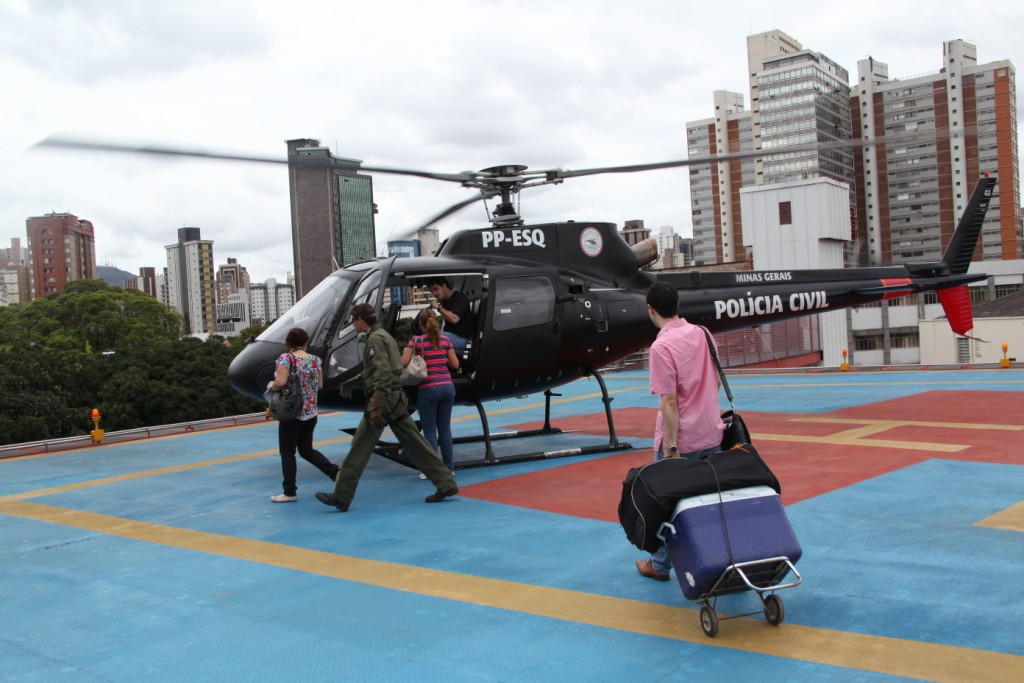 Helicóptero da Polícia Civil de Minas