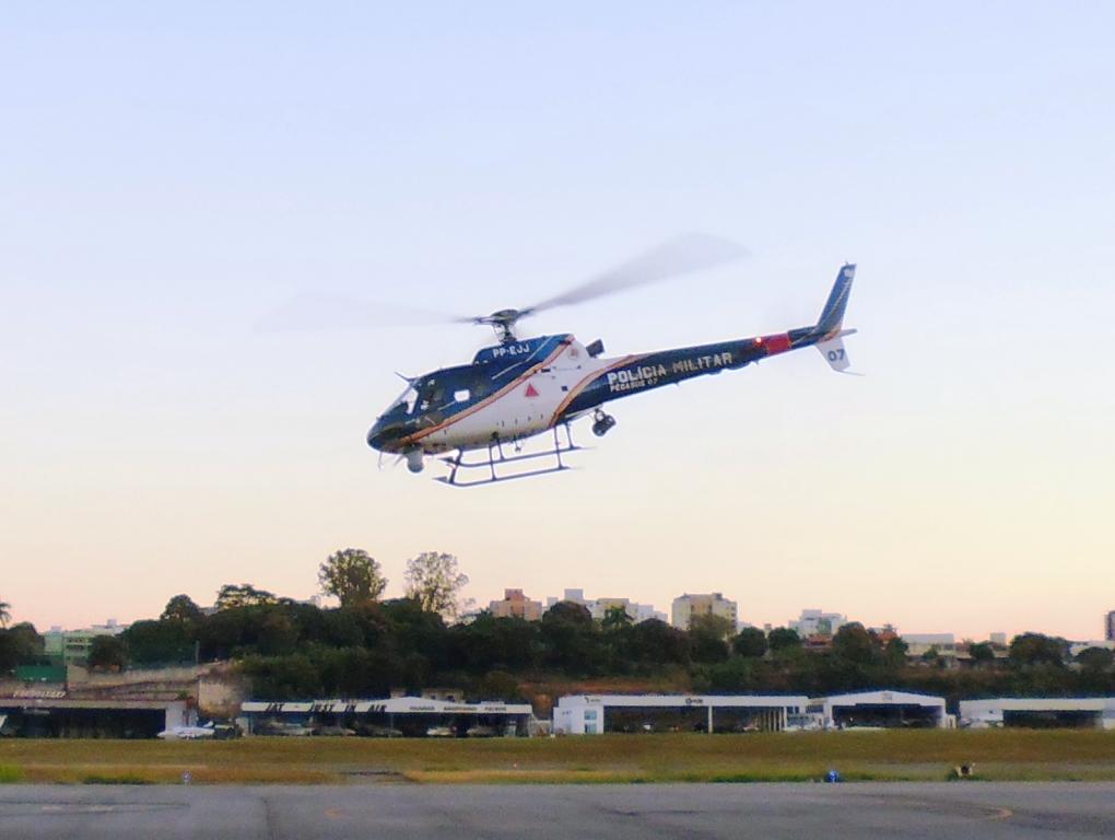 Helicóptero da Polícia Militar de Minas