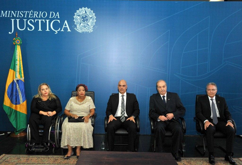 Solenidade de Posse dos Novos Secretários do Ministério da Justiça/Foto:Isaac Amorim/MJC